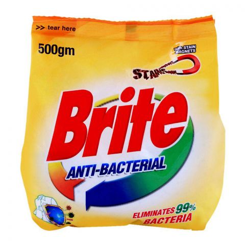 Brite Anti-Bacterial Detergent Powder 500g