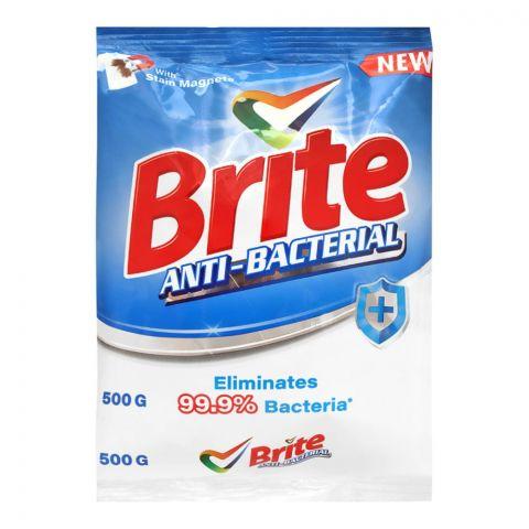 Brite Anti-Bacterial Detergent Powder 500g