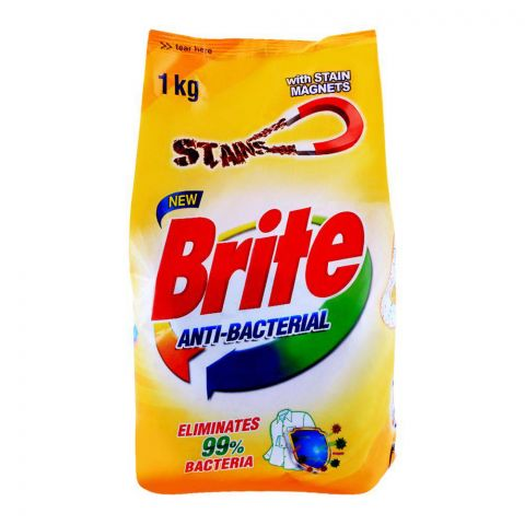 Brite Anti-Bacterial Detergent Powder 1000g