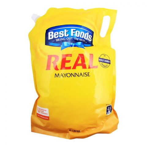 Best Foods Real Mayonnaise, 4 Liters