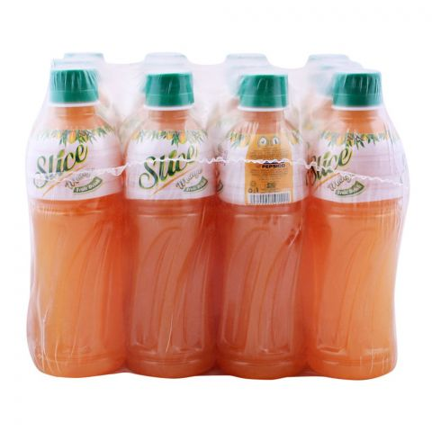 Slice Mango Juice 355ml Bottle, 12 Pieces