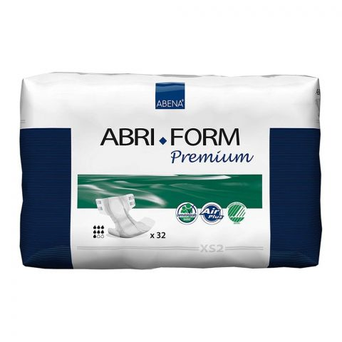 Abena Abri Form Premium Adult Incontinence Pads, Extra Small, 20-24 Inches, 32-Pack