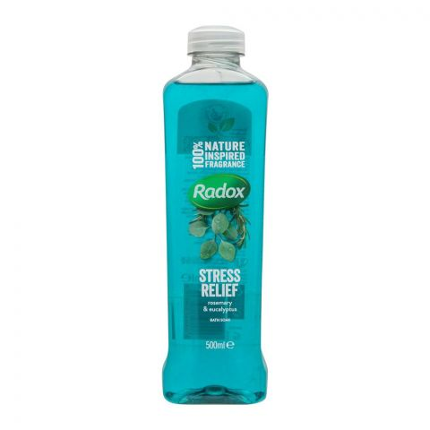 Radox Stress Relief Rosemary & Eucalyptus Bath Soak, 500ml