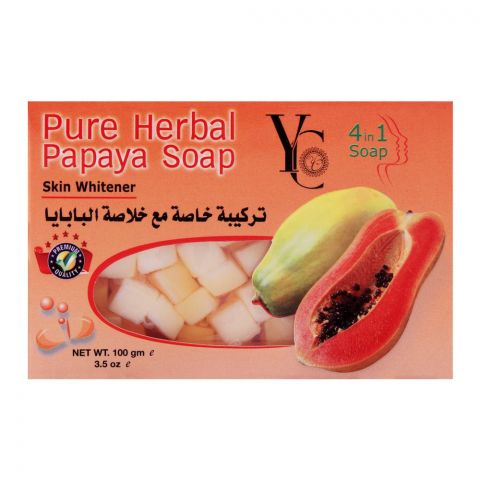 YC Pure Herbal Papaya Soap, 100g