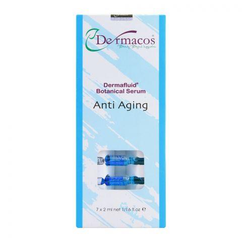 Dermacos Dermafluid Botanical Serum Anti Aging, 7 x 2ml