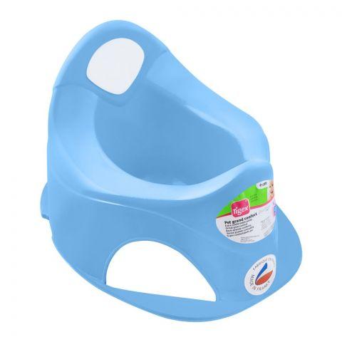 Tigex Pot Grand Comfort Potty Trainer, Light Blue, 370553