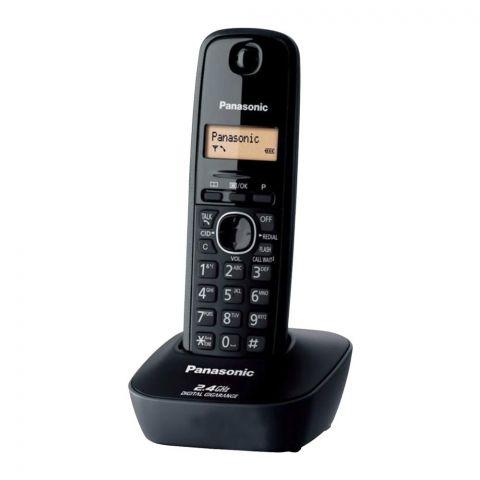 Panasonic 2.4GHz Digital Cordless Phone, Black, KX-TG3411BX
