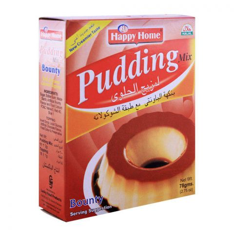 Happy Home Bounty Pudding Mix 78g