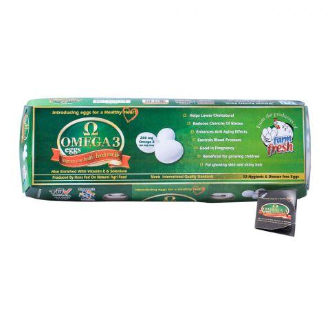 Farm Fresh Omega-3 Eggs, 12-Pack