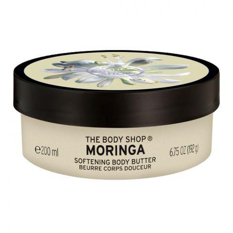 The Body Shop Moringa Softening Body Butter, 200ml