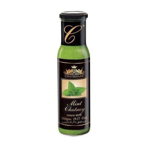 Chatkhaar Mint Chutney (Sauce), 260g