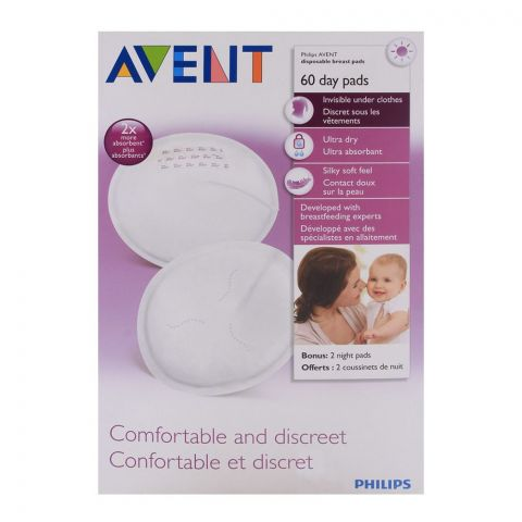 Avent Disposable Breast Pad 60'S - SCF254/60
