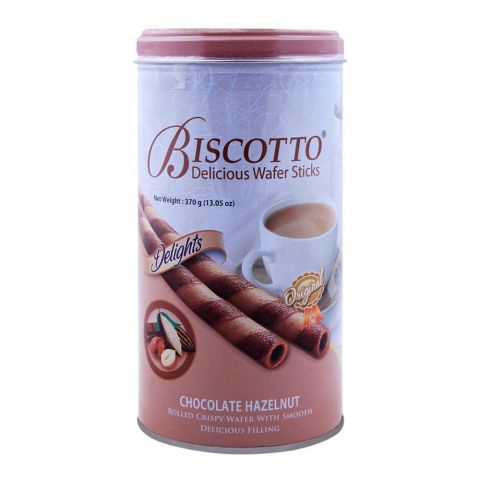Biscotto Chocolate Hazel Nut Wafer Sticks 370gm