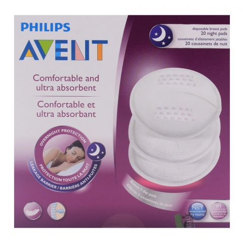 Avent Disposable Breast Pads 20'S - SCF253/20