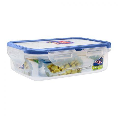Lock & Lock Air Tight Rectangular Short Food Container, 360ml, LLHPL810