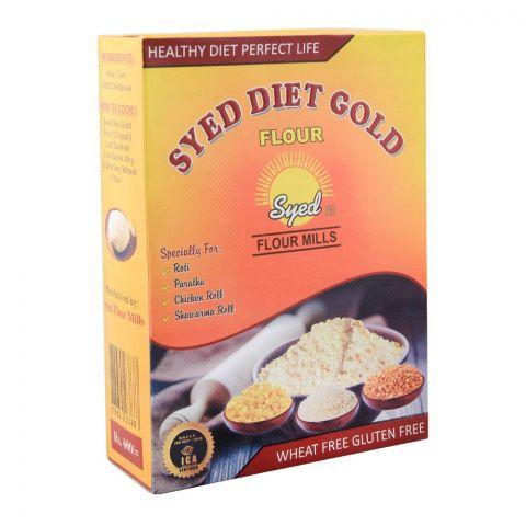 Syed Flour Mills Diet Gold Atta, Wheat & Gluten Free, 1 KG