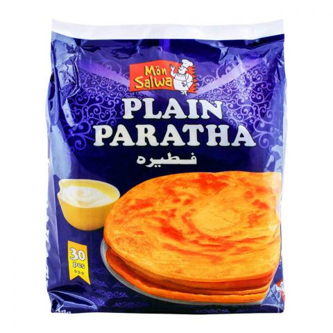 MonSalwa Plain Paratha Super Family Pack 30 Pieces