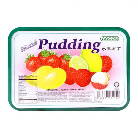 Cocon Mixed Mini Pudding, Box, 420g