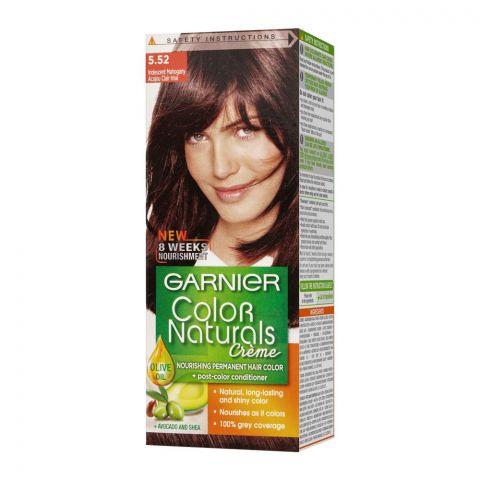 Garnier Color Naturals Creme Hair Colour, 5.52 Iridescent Mahogany