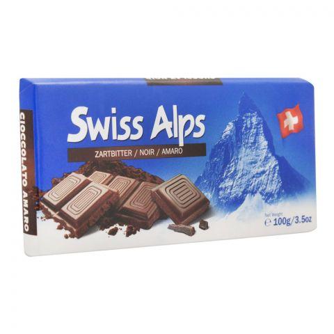 Swiss Alps Dark Chocolate Bar, 100g