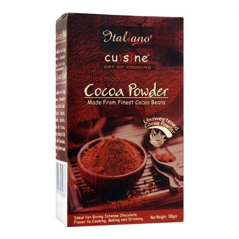 Italiano Cocoa Powder, Unsweetened, 100g