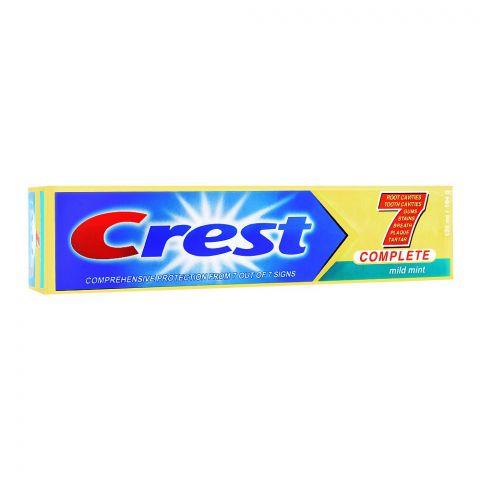 Crest Complete 7 Mild Mint Toothpaste, 164g