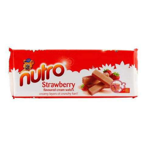 Nutro Strawberry Wafer 75gm