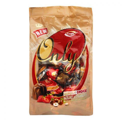 Cagla Hazelnut & Strawberry Chocolate, Pouch, 500g