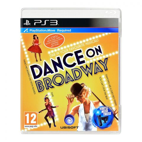 Dance On Broadway - PlayStation 3 (PS3)