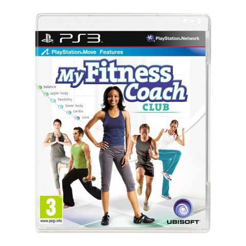 My Fitness Coach Club  - PlayStation 3 (PS3)