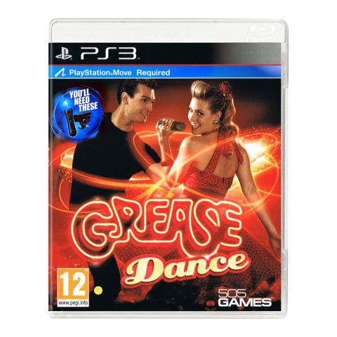 Grease Dance - PlayStation 3 (PS3)
