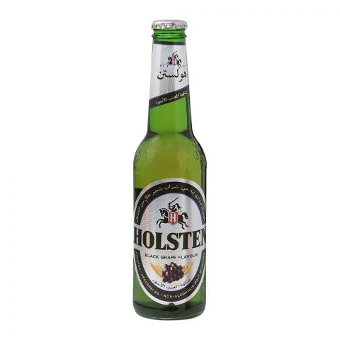 Holsten Black Grape Malt Drink Bottle, Non Alcoholic, 330ml