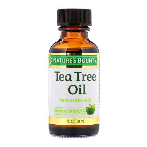 Nature's Bounty Tea Tree Oil, Natural Skin Acid, 30ml