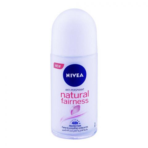 Nivea 48H Natural Fairness Roll On 50ml