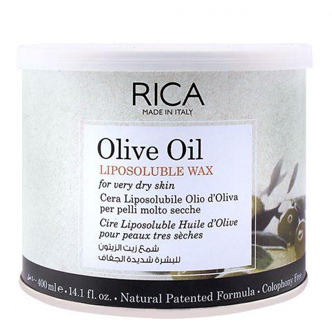 RICA Olive Oil Dry Skin Liposoluble Wax 400ml