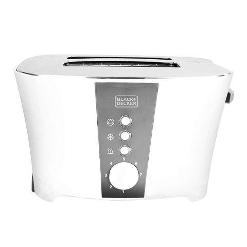 Black & Decker 2 Slice Toaster, 800 Watts, ET122