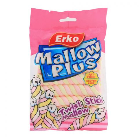 Erko Mallow Plus Twist Stick Mallow, 80g