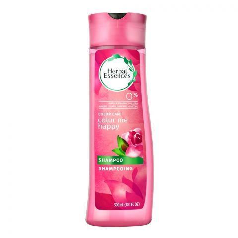 Herbal Essences Color Care Color Me Happy Shampoo, Paraben Free, 300ml