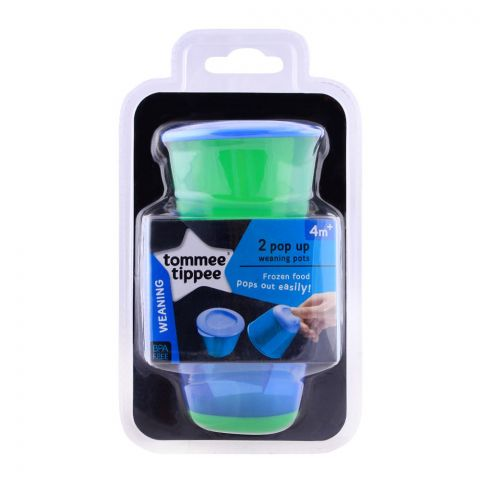 Tommee Tippee Explora Pop Up Weaning Pots 4m+ - 446502/38