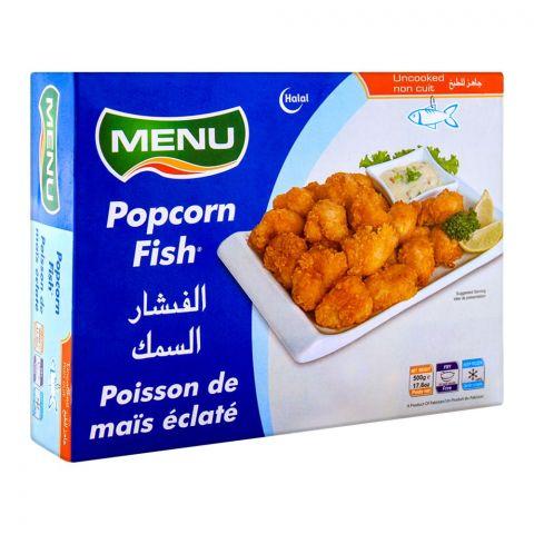 Menu Popcorn Fish 500g