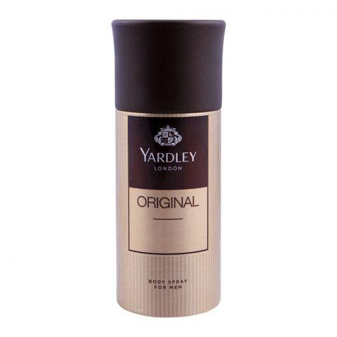 Yardley Original Deodorant Body Spray For Men, 150ml