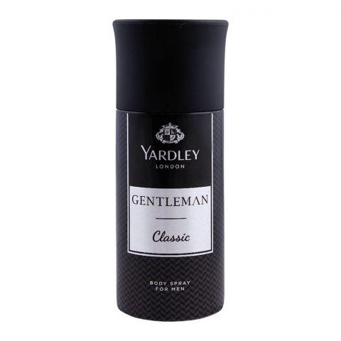 Yardley Gentleman Classic Deodorant Body Spray, 150ml