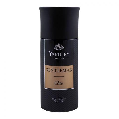 Yardley Gentleman Elite Deodorant Body Spray, 150ml