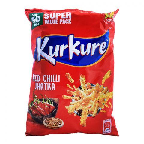 Kurkure Red Chilli Jhatka 110g