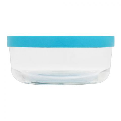 Borgonovo Igloo Glass Bowl With Lid, Round, 4.2x2.2 Inches, No. 1