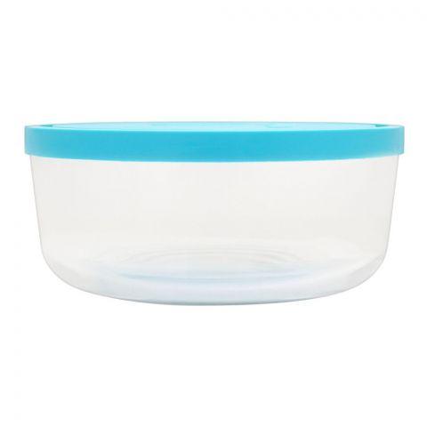 Borgonovo Igloo Glass Bowl Round Italy, 22x7 Inches, No. 3