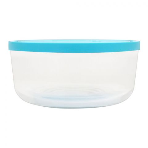 Borgonovo Igloo Glass Bowl With Lid, Round, 26x3.4 Inches, No. 4