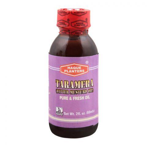 Haque Planters Taramera, Bitter Musturd Oil, 60ml