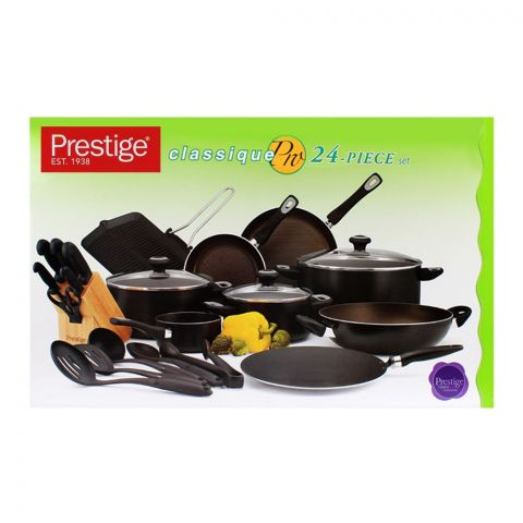 Prestige Non-Stick Cooking Set 24-Pack - 21638