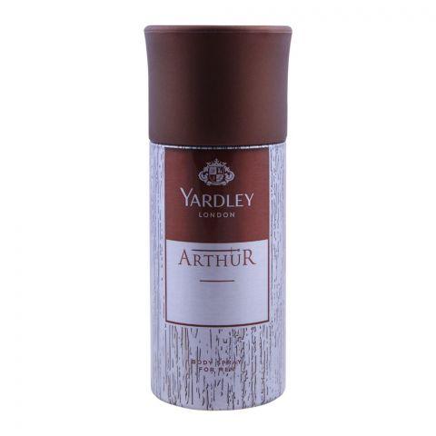 Yardley Arthur Deodorant Body Spray For Men, 150ml